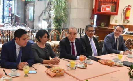 IMPULSA MORENA REFORMA DE LAS INSTITUCIONES PARA CONSOLIDAR  UN NUEVO RÉGIMEN: MAURILIO HERNÁNDEZ