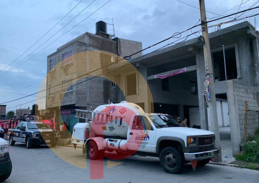 REPARTIDOR DE GAS MUERE ELECTROCUTADO EN SAN MATEO ATENCO