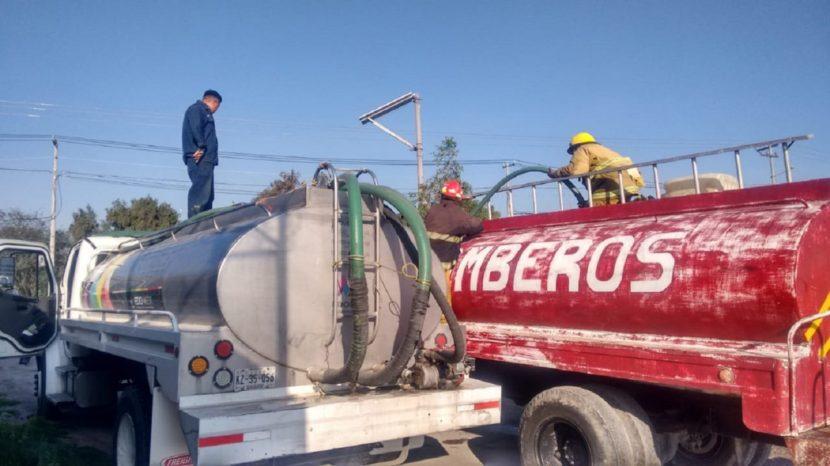 RECIBEN MENOS SUMINISTRO DE AGUA POTABLE CUATRO MUNICIPIOS DEL VALLE DE MÉXICO POR FUGA DE GAS EN NEXTLALPAN