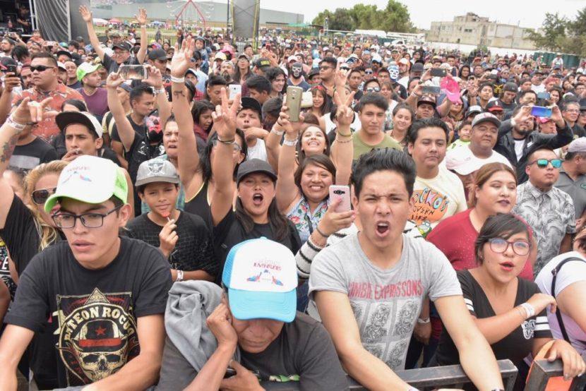 CON GRAN ÉXITO SE DESARROLLA EL FESTIVAL DE LAS JUVENTUDES TLALNEPANTLA 2019