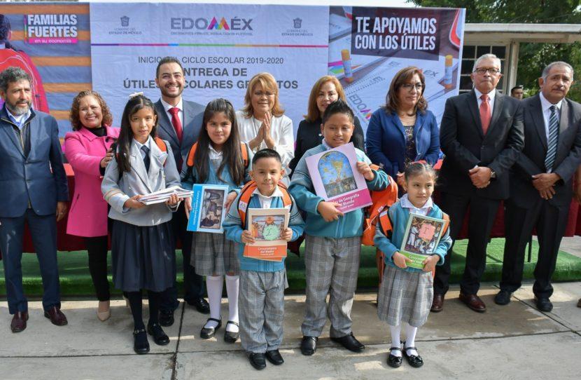 64 MIL ALUMNOS DEL NIVEL BÁSICO INICIARON CICLO ESCOLAR 2019-2020 EN ATIZAPÁN