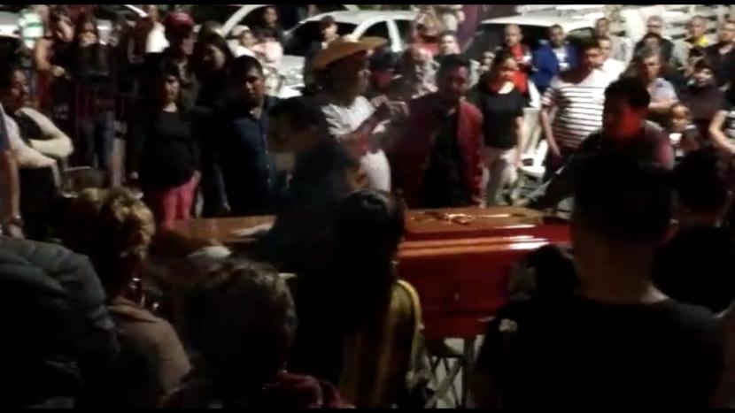 (VIDEO) VELAN A PERIODISTA ASESINADO EN TEJUPILCO