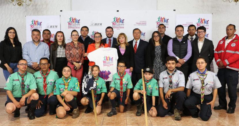 REFORZARÁ LAZOS FAMILIARES LA 10ª CARRERA POR LA DEMOCRACIA: IEEM