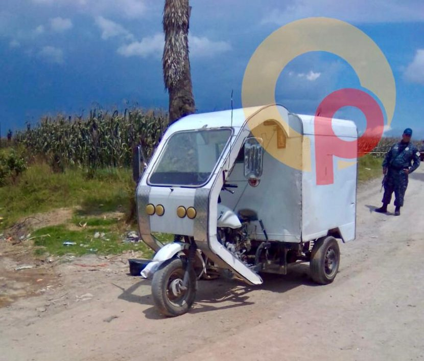 ULTIMAN A DISPAROS A MOTOCICLISTA EN CALIMAYA