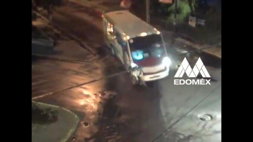 ( VIDEO) CÁMARAS CAPTAN MOMENTO EN QUE AUTOBÚS ATROPELLA A CICLISTA Y SE DA A LA FUGA