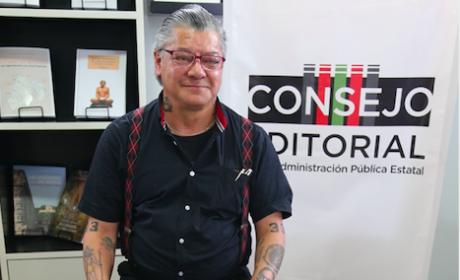 COMPARTE JOSÉ LUIS HERRERA ARCINIEGA SU EXPERIENCIA COMO ESCRITOR