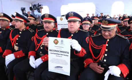 RECONOCE TOLUCA A SUS BOMBEROS POR SU HEROICA LABOR DIARIA