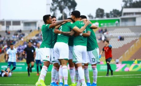 MÉXICO VENCE A ARGENTINA 2 A 1 EN EL PANAMERICANO DE FUTBOL