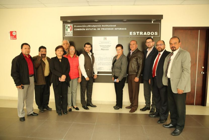 PUBLICA EL CDE DEL PRI LOS RESULTADOS FINALES DE LA ELECCIÓN DEL CEN EN EL ESTADO DE MÉXICO