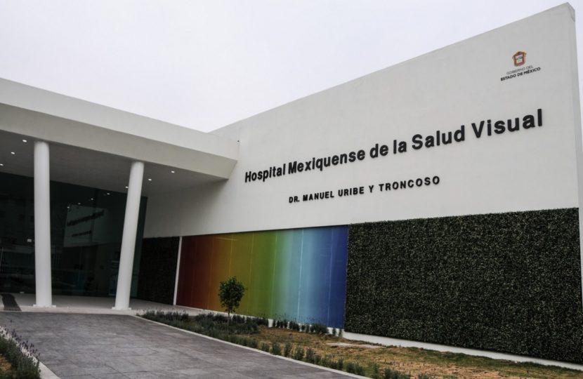 BRINDA HOSPITAL DE LA SALUD VISUAL DEL ISEM ATENCIÓN PARA EVITAR DISCAPACIDAD Y CEGUERA