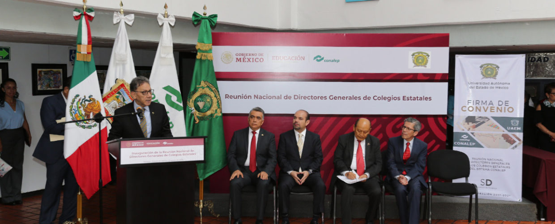 UAEM Y CONALEP SUMAN SUS ACTIVOS A FAVOR DE LA JUVENTUD MEXICANA