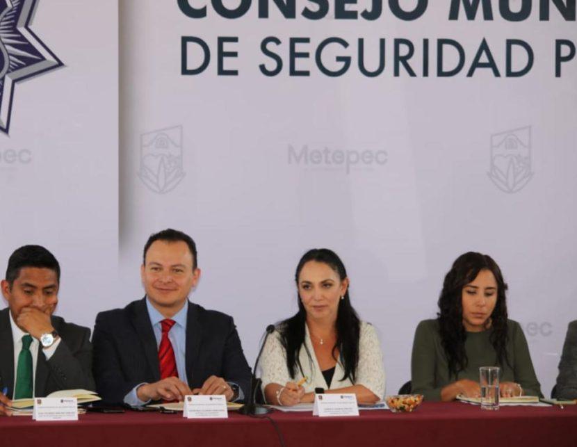 METEPEQUENSES PARTICIPAN EN LA ESTRATEGIA DE SEGURIDAD PÚBLICA MUNICIPAL