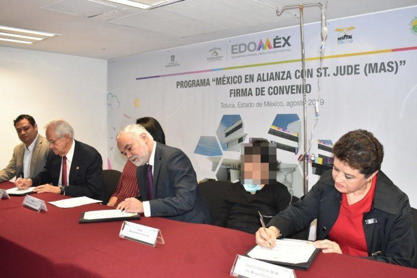 FIRMAN IMIEM Y CASA DE LA AMISTAD PARA NIÑOS CON CÁNCER CONVENIO EN BENEFICIO DEL HOSPITAL PARA EL NIÑO
