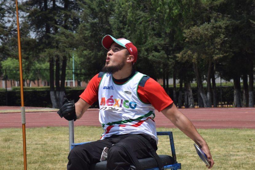 ÉRIK ALEJANDRO DE SANTOS BUSCA OBTENER ORO EN LOS PARAPANAMERICANOS LIMA 2019