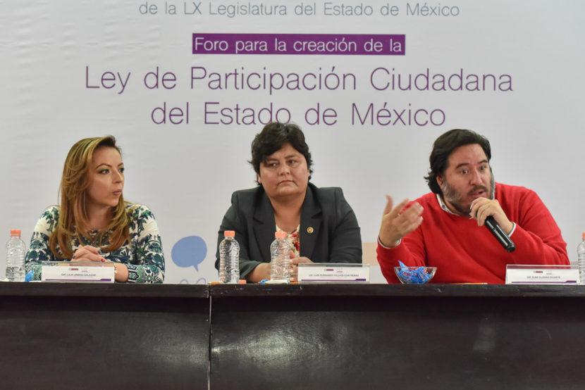 PROMOVERÁ LA LEGISLATURA UNA LEY DE PARTICIPACIÓN CIUDADANA