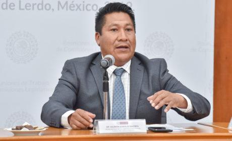 PLANTEA ALFREDO GONZÁLEZ INCLUIR EN EJERCICIO  FISCAL MEJORAS A ZONAS INDUSTRIALES