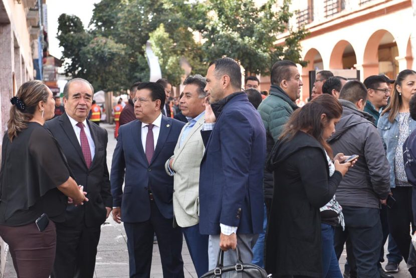 PARTICIPA EL PODER LEGISLATIVO MEXIQUENSE EN MACROSIMULACRO DE SISMO