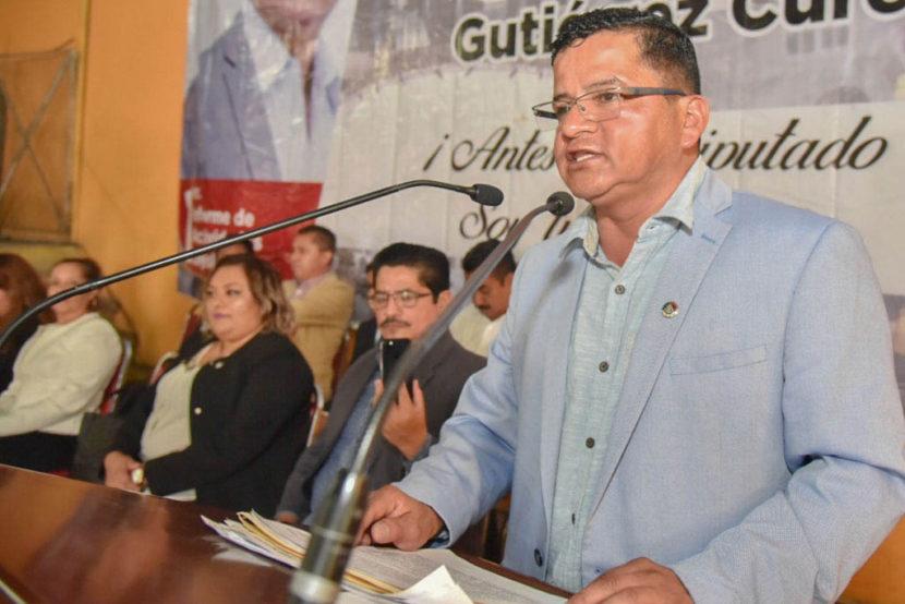 MORENA REPRESENTA EL ANHELO DE CAMBIO: MARIO GABRIEL GUTIÉRREZ CUREÑO