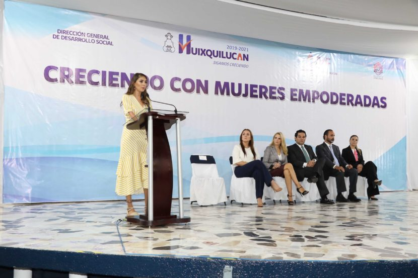 ARRANCA PROGRAMA CRECIENDO CON MUJERES EMPODERADAS EN HUIXQUILUCAN