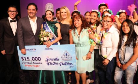 MARÍA FERNANDA ES LA SEÑORITA FIESTAS PATRIAS HUIXQUILUCAN 2019