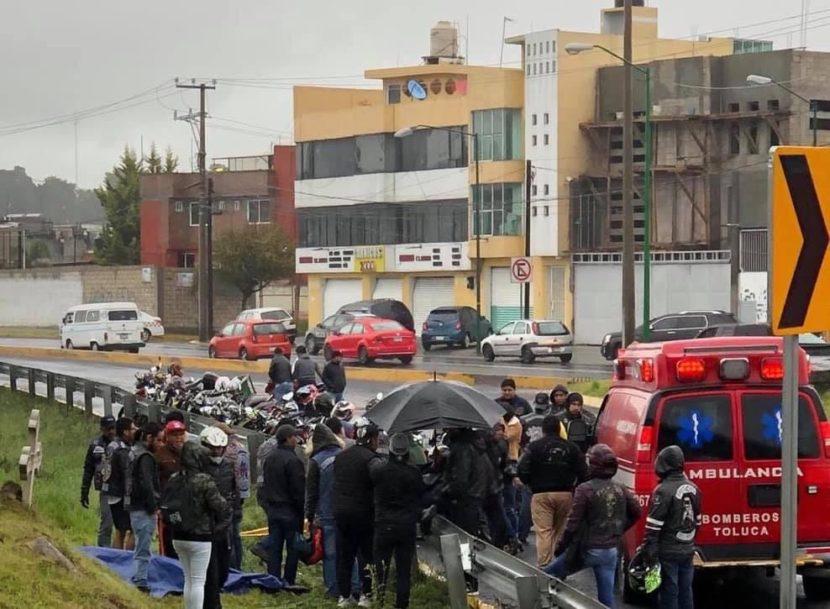 MUERE MOTOCICLISTA TRAS DERRAPAR EN AVENIDA LAS TORRES