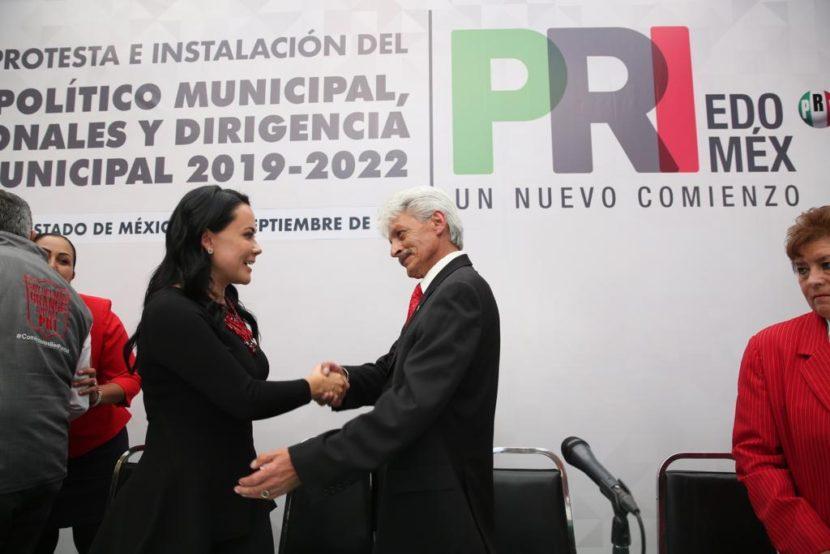 SIN ESTRIDENCIAS, EL PRI EN EL ESTADO DE MÉXICO SIGUE SU MARCHA:  ALEJANDRA DEL MORAL