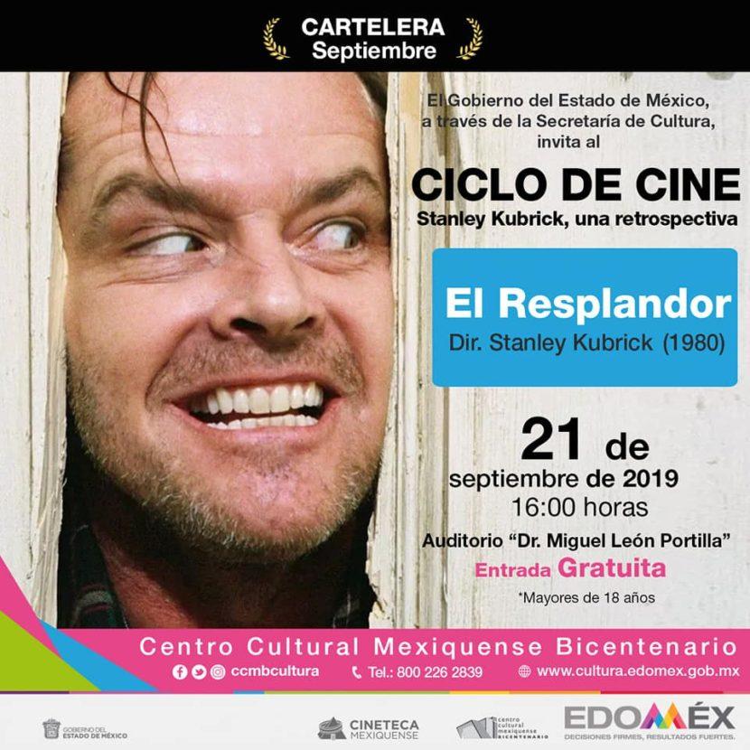 PRESENTA CINETECA MEXIQUENSE CICLO DE STANLEY KUBRICK