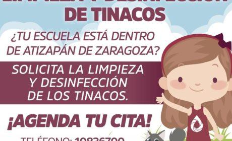 """REALIZA SAPASA """"CAMPAÑA DE LIMPIEZA Y SANITIZADO DE CISTERNAS Y TINACOS EN ESCUELAS PÚBLICAS"""""""