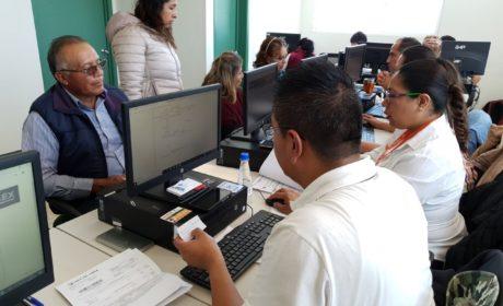 HABILITA ISSEMYM 11 MIL REGISTROS ELECTRÓNICOS PARA PENSIONADOS Y PENSIONISTAS