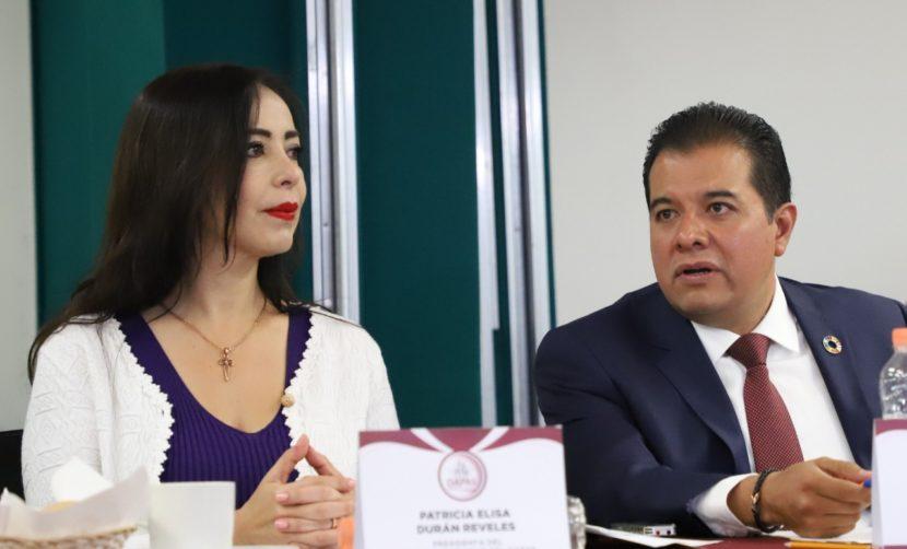 GARANTIZA PATRICIA DURÁN ABASTO DE AGUA