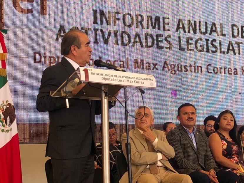EN UNIDAD VAMOS A LA TRANSFORMACIÓN DEL EDOMEX: MAURILIO HERNÁNDEZ
