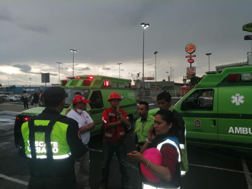 OCULTAN FUGA DE GAS EN PLAZA COMERCIAL LAS AMÉRICASY PONEN EN RIESGO A CIENTOS DE PERSONAS