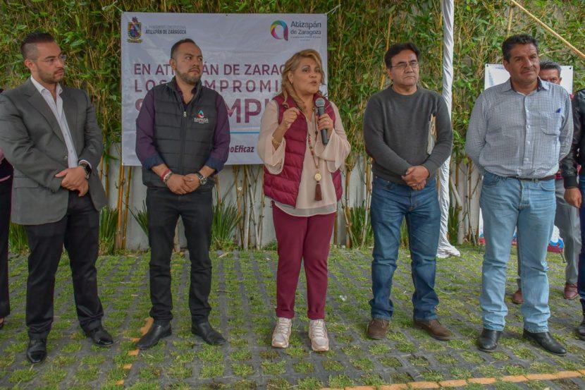 RUTH OLVERA ENCABEZA ENTREGA DE ENSERES DOMÉSTICOS A FAMILIAS AFECTADAS POR LLUVIAS