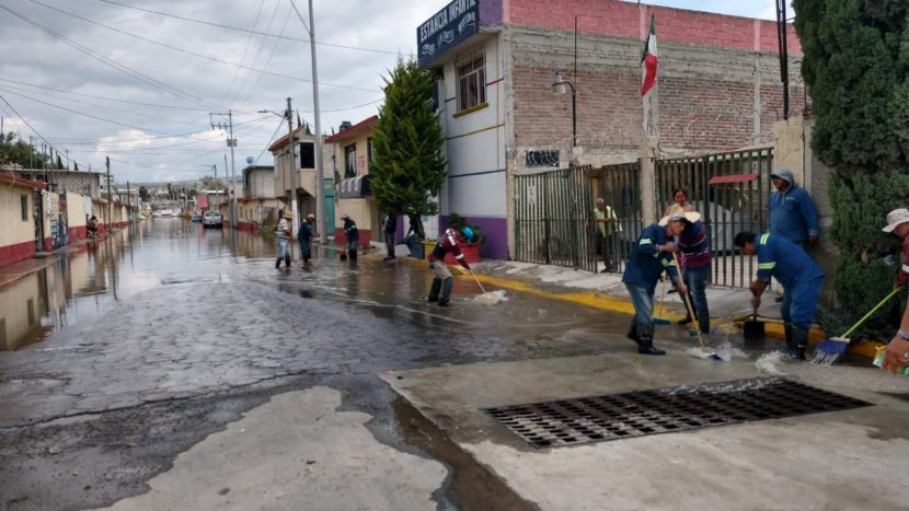 COOPERA CAEM Y GRUPO TLÁLOC PARA ABATIR NIVELES DE AGUA EN SAN PEDRO ATZOMPA, TECÁMAC