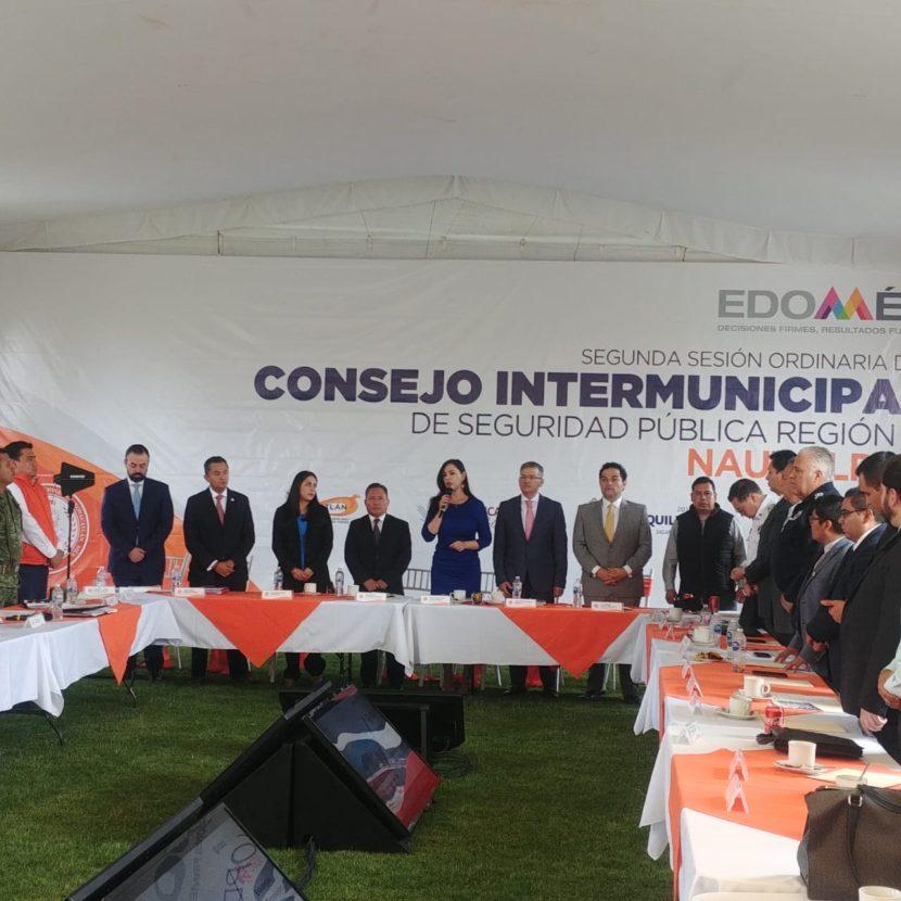 AFINAN NAUCALPAN Y MUNICIPIOS VECINOS COORDINACIÓN EN SEGURIDAD
