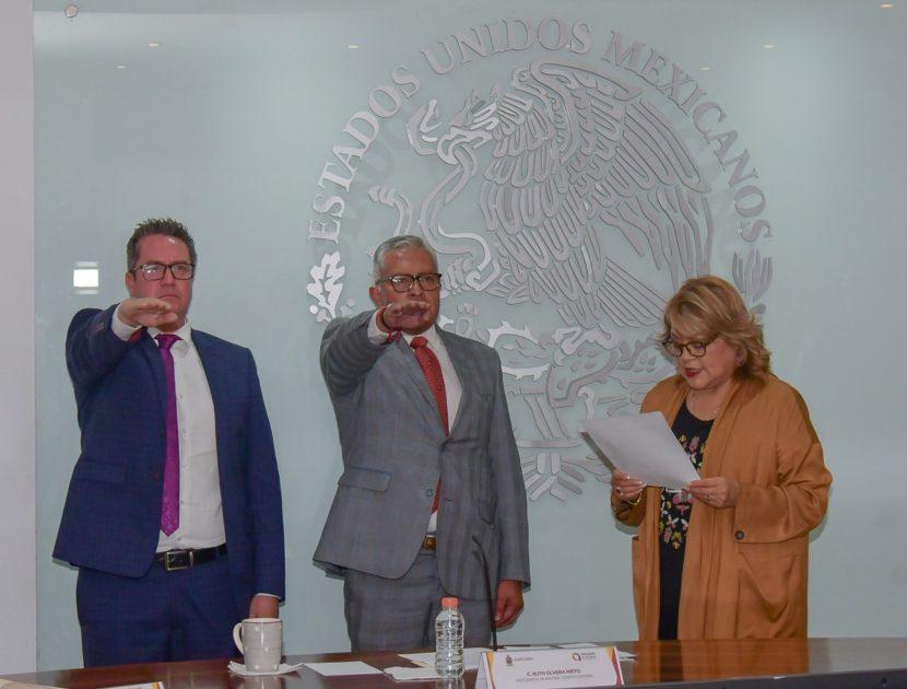 RINDEN PROTESTA NUEVOS TITULARES DE BIENESTAR Y SISTEMA DIF DE ATIZAPÁN DE ZARAGOZA