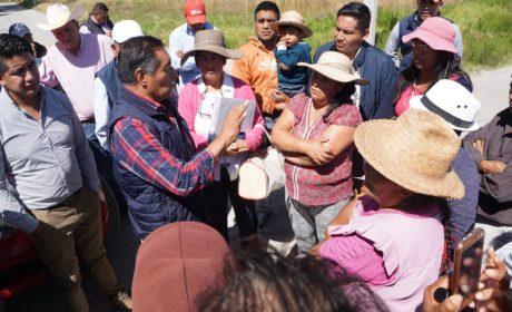 MEJORAN VÍAS DE COMUNICACIÓN EN POBLACIONES DE ALMOLOYA DE JUÁREZ
