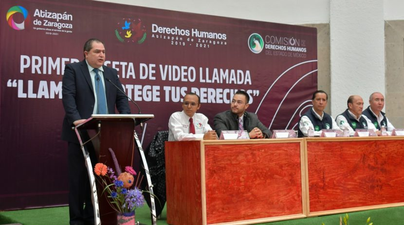 ESTRENA ATIZAPÁN CASETA DE VIDEOLLAMADA PARA PROTECCIÓN Y DENUNCIA DE LOS DERECHOS HUMANOS
