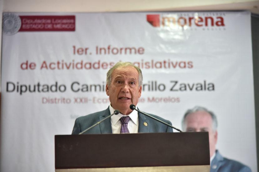 LA 4T ES LUCHAR POR LA PAZ Y LA JUSTICIA PARA MÉXICO: CAMILO MURILLO