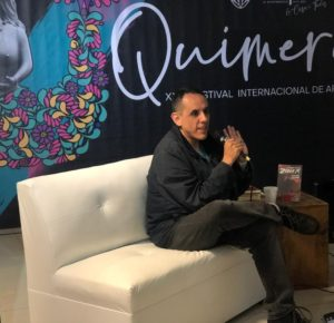 EN QUIMERA COMPARTE EL ESCRITOR ALBERTO CHIMAL NARRACIONES DE SU ÚLTIMA NOVELA