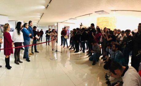 INAUGURA ALCALDESA GABY GAMBOA EXPOSICIÓN COLECTIVA DE FOTOPERIODISMO