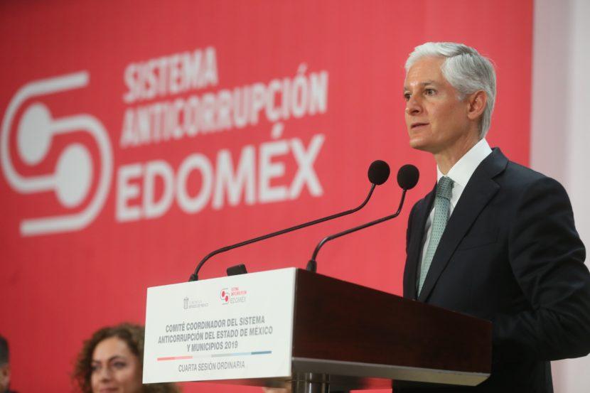 GARANTIZA ALFREDO DEL MAZO RESPALDO PARA FORTALECER AL SISTEMA ANTICORRUPCIÓN DEL EDOMÉX