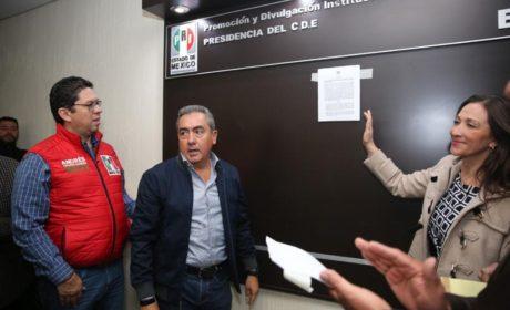 EMITE EL CEN DEL PRI LA CONVOCATORIA PARA RENOVAR LA DIRIGENCIA DEL CDE EN EL ESTADO DE MÉXICO