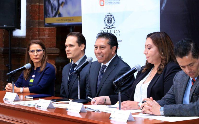 ORGANIZA TOLUCA FERIA INTERNACIONAL DEL CABALLO LUSITANO 2019