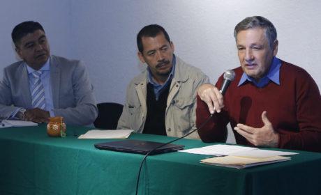ENRIQUE LUENGO GONZÁLEZ OFRECE CONFERENCIA EN MATERIA AMBIENTAL