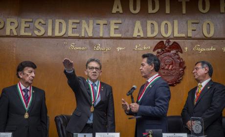 ALFREDO BARRERA INGRESÓ COMO SOCIO NUMERARIO A LA SOMEGEM