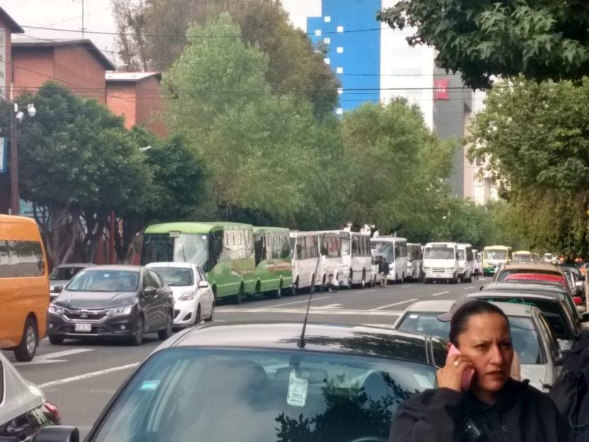 GOBIERNO DE TLALNEPANTLA NO CEDERÁ A CHANTAJES DE TRANSPORTES