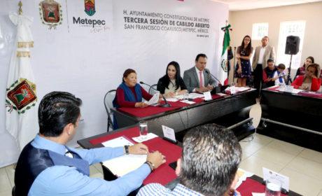 CABILDO DE METEPEC APRUEBA PROTOCOLO DE ACTUACIÓN Y PROTECCIÓN AL EJERCICIO PERIODÍSTICO