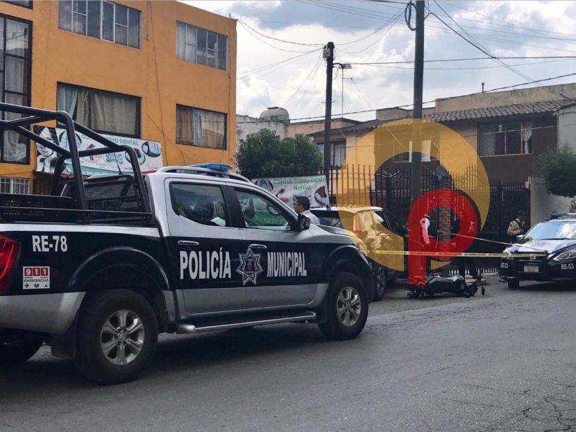 REALIZAN DISPAROS PARA HUIR TRAS ROBO EN METEPEC