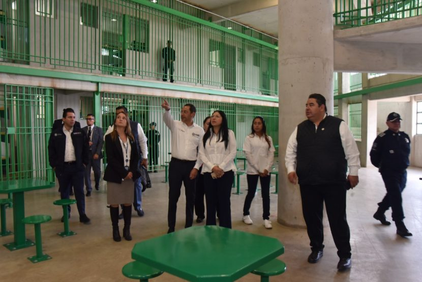 SECRETARÍA DE SEGURIDAD PONE EN MARCHA NUEVO CENTRO PENITENCIARIO Y DE REINSERCIÓN SOCIAL TENANCINGO SUR